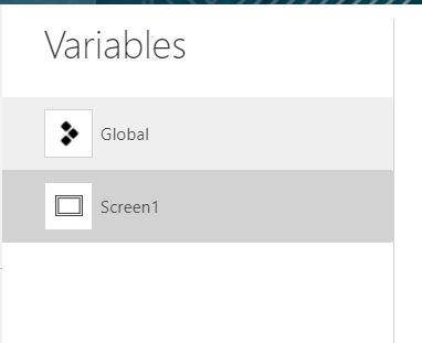 Power Apps: Variables Global y Context